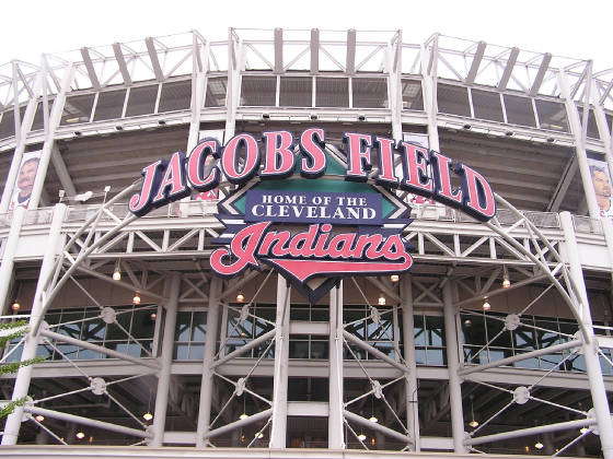 THe Exterior of Jacob's Field -Cleveland
